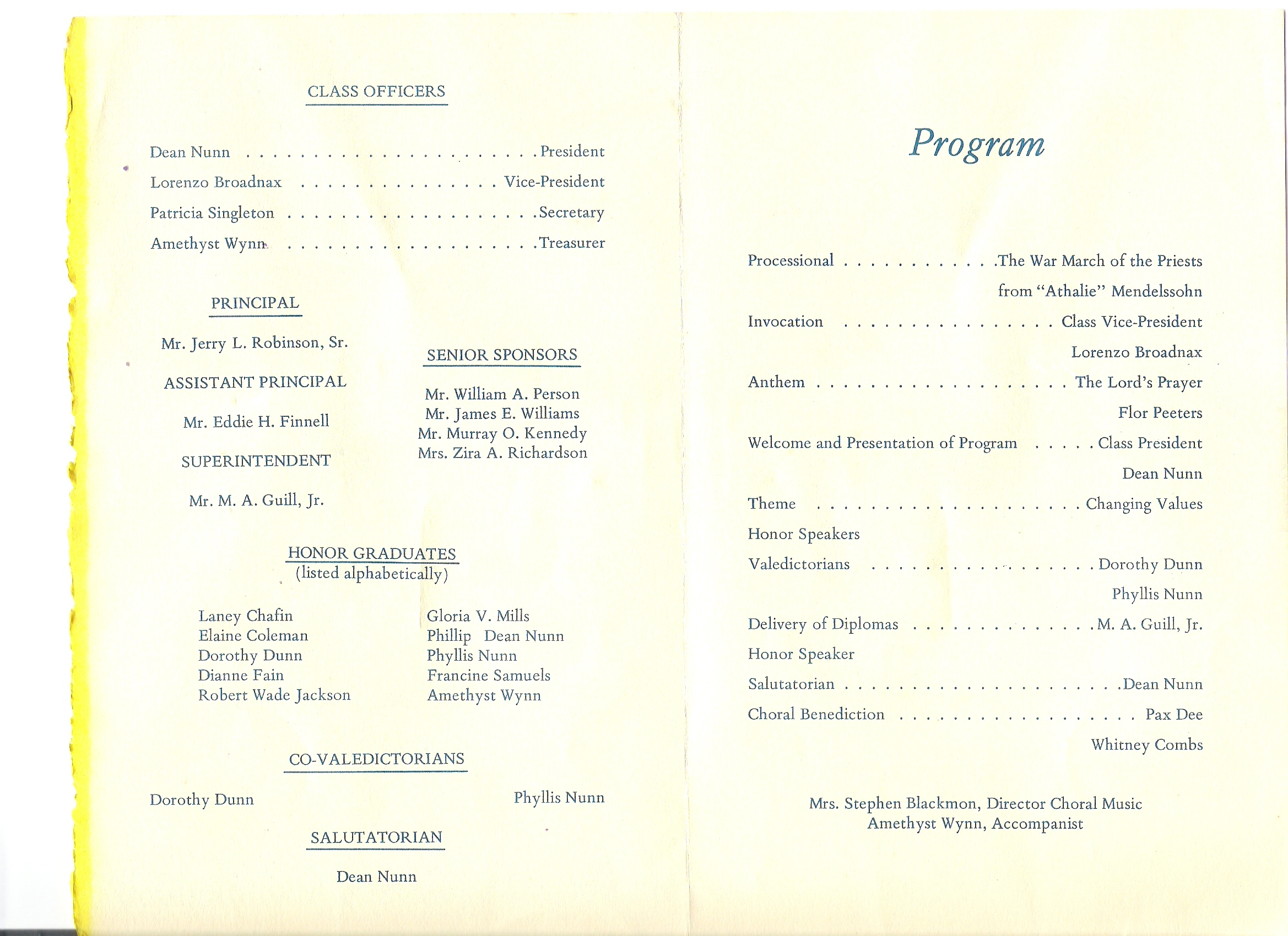 church banquet program template QidqiFb3